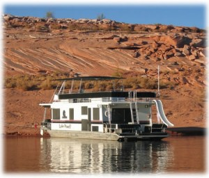 Lake Havasu houseboat